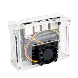 $enCountryForm.capitalKeyWord Australia - Acrylic Case Computer With Cooling Fan Protective Home Dust Resistant Accessories Durable With Screws For Jetson Developer Kit