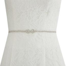 Discount rhinestone cheap wedding belt - Cinturon Novia 275 CM Rhinestone Bridal Belt 6 Colors Crystals Wedding Dress Belt Wedding Sashes Cheap Wedding Accessori