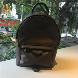 $enCountryForm.capitalKeyWord NZ - Fashion Palm Springs Backpack Mini Genuine Leather Children Backpack Women Printing Leather 41562 Cycling Bags Day Packs Red Flower letter