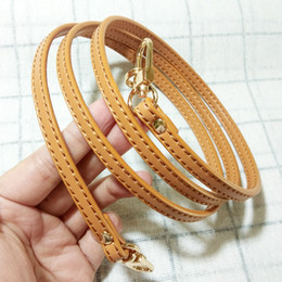 DIY Women Genuine Leather Bag Strap 0.7*120CM Bag Accessories For Luxury Bag Crossbody strap replacement on Sale