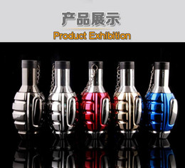 Play model online shopping - New Arrival Big Hand Grenade Model Direct Welding Torch Lighter Ice Edge Play Big Firepower Torch Four Spray Lighter