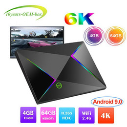 $enCountryForm.capitalKeyWord Australia - New Hot M9S Z8 Android 9.0 TV Box With H6 Quad Core CPU 4GB 64GB Streaming Media Player Support 2.4G Wifi 4GB 64GB Better S905X2 RK3328