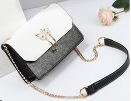 Cosmetic Bags Locks Australia - 2018 Hot Sale Fashion Women Shoulder Bag Chain Messenger Bag High Quality Handbags Wallet Purse Designer Cosmetic Bags Crossbody Bags Tote