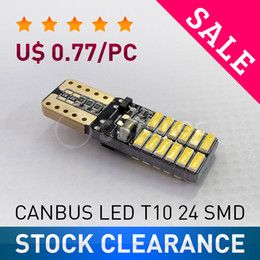 $enCountryForm.capitalKeyWord Australia - SALE Super bright LED T10 canbus no error 24 SMD 4014 car light 12V w5w auto cob clearance bulb door GLOWTEC