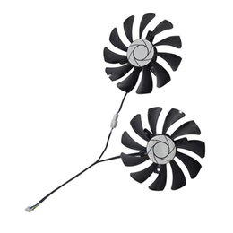 Msi fan online shopping - New Pair Graphics Card Fan Mm Ha9010H12F Z Pin Cooler Fan Replacement For Msi Gtx Oc G Gtx P106 P106 Gtx106