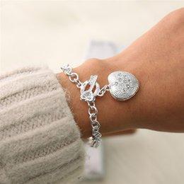 $enCountryForm.capitalKeyWord Australia - Heart Bracelet Forever Love Adjustable Bracelets Gifts for Women Girls Girlfriend Christmas