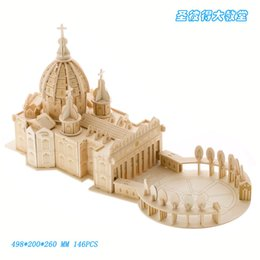 $enCountryForm.capitalKeyWord Australia - Russian Peter's Cathedral Wooden Simulation 3D Building Model Wooden DIY Adult Educational Toys Diy Doll House Kids Toys