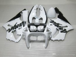 $enCountryForm.capitalKeyWord Australia - ABS plastic fairing kit for Kawasaki Ninja ZX7R 96 97 98 99 00-03 white black fairings kits ZX7R 1996-2003 TY20