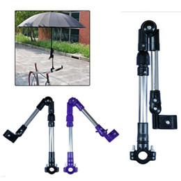 $enCountryForm.capitalKeyWord Australia - Adjustable Stainless Steel Bicycle Umbrella Stand Baby Stroller MTB Road Bike Wheelchair Umbrella Mount Holder Connector Bracket