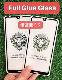 $enCountryForm.capitalKeyWord Australia - Cheap Price 5D 6D 9D 10D 20D Full Glue Tempered Glass For Nokia 3.2 Screen Protector 3.1 Plus 5.1 6.1 7.1 8.1 Clear 9H Anti Scratch Film