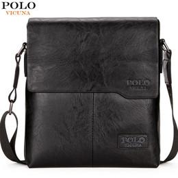 $enCountryForm.capitalKeyWord NZ - Vicuna Polo Men Shoulder Bag Classic Brand Men Bag Vintage Style Casual Men Messenger Bags Promotion Crossbody Bag Male Hot Sell J190721