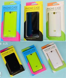 Universelle leere Kleinpaket-Papierkasten-Verpackung für iphone 7 7 PLUS 5 6S 6 Plus-Samsung-Galaxie S6 S5 Handy-lederne Fall-Mappen-Abdeckung