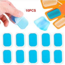 Smart patch online shopping - 10pcs Replecament Gel Stickers Patch Pads Silicone Hydrogel Mat Wireless Smart EMS Abdominal Muscles Outdoor Fitness Equipment