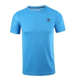 $enCountryForm.capitalKeyWord UK - Men Round Sport Shirt Men Tops Tees Running Shirts Mens Gym t Shirt Sports Fitness Jersey Quick Dry Fit camiseta running hombre
