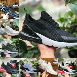 buy online 3f586 a9b11 nike air max 270 vapormax airmax off white 270 flyknit shoe zapatos  deportivos barato 270S negro blanco rojo azul cojín zapatillas correr  mujeres hombres ...
