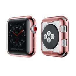 $enCountryForm.capitalKeyWord Australia - 38mm 42mm width silicone case For Apple watch 2 Hard case accessories For Apple 3 smart watch frontier dial protection shell Free shipping