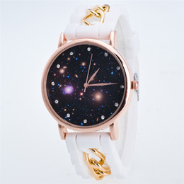 $enCountryForm.capitalKeyWord Australia - Foreign trade explosion models Geneva watches Silicone star series watches men and women chain watches low price wholesale