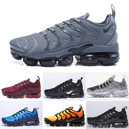 running shoes run Canada - Free Shipping New Mens Shoe Sneakers TN Plus Breathable Air Cusion Desingers Casual Running Shoes New Arrival Color US5.5-11 EUR36-45 TAA