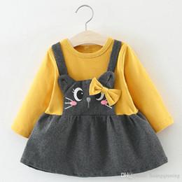 $enCountryForm.capitalKeyWord Australia - Autumn Winter Dress For Newborn Baby Girls Dresses Kids Vestidos Toddler Infantil Cartoon Cotton Costume For Party Birthday Clothes 2018