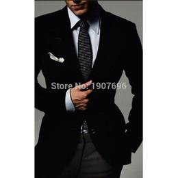 8101d836cae9 PurPle velvet jacket men online shopping - Black Velvet Men Suits Jacket  Winter Peaked Lapel Smart
