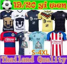 $enCountryForm.capitalKeyWord Canada - Size S-4XL LIGA MX 2019 2020 Club America Soccer Jerseys Home Away UNAM Guadalajara Chivas kit Jersey 19 20 Tigres UANL Football Shirts