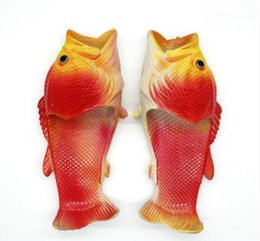 $enCountryForm.capitalKeyWord UK - Funny fish slippers children cartoon fish-shaped shoes beach shoes a family of three parent-child shoes star with the same type of fish slip