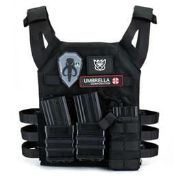 army combat vest 2019 - Outdoor Lightweight Vests Tactical Vest Camouflage Jungle Hunting CS Combat Vest Hunting Equipment cheap army combat ves