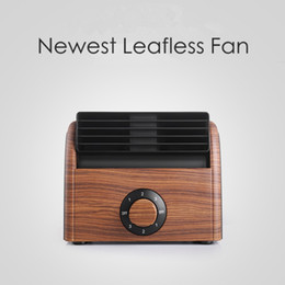 $enCountryForm.capitalKeyWord NZ - Newest Leafless Fan Air Conditioner Cool Wind Desk Electric Portable Silent Bladeless Fan for Home Car Bedroom Office HHA324