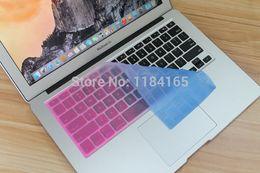 "$enCountryForm.capitalKeyWord Australia - 17 Colors US Keyboard Cover Silicone Skin Gel Case for Macbook "" 15"" 17"" Macbook Air Pro Protector"