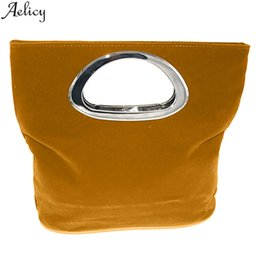 Ladies Evening Handbags Australia - Aelicy Women's Fashion Simple Square Folding Clutch Bag Ladies Solid Evening Banquet Bags Casual Travel Handbag Bolso De Mujer