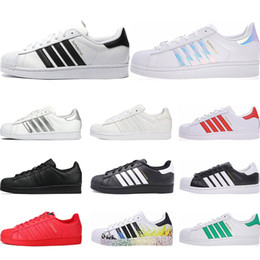$enCountryForm.capitalKeyWord Australia - Hot Originals superstars casual shoes Designer for men women black white gold green red super star fashion mens flat sneakers size 36-44