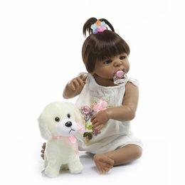 $enCountryForm.capitalKeyWord Australia - Bebe reborn 22 Inch 56cm Reborn Dolls Baby Girl Full Body Silicone Vinyl Realistic Princess Babies Dolls Kids Playmates Gift Toys