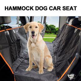 $enCountryForm.capitalKeyWord Australia - Waterproof Scratch Proof Non Slip Back Seat Car Pet Mat With Seat Belt Buckle For Pets Hammock Dog Car Cover