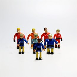Fireman Figure Australia - Sam Doll Firemen Action Figures Mini Rescue Team Various Styles Kids Gift Joint Movable 1 25rg F1