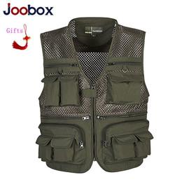 $enCountryForm.capitalKeyWord Australia - Summer Mesh Vest For Men Spring Autumn Male Casual Thin Breathable Multi Pocket Waistcoat Mens Baggy 5XL Vest With Many Pockets