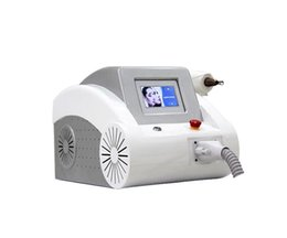 acne scar machine UK - Scar Acne removal 1064nm 532nm Nd Yag Tattoo Removal Laser Beauty Machine for Scar Acne Removal