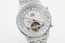 Speed S NZ - Full Plantom Staiinless Steel Chronograph Men\'s Wristwatch Top Quality Winding Bezel Speed Six Male Watch