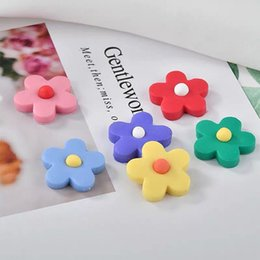 b68dcfd9818ba1 Diy earring material online shopping - DIY girl Soft clay pottery clay INS  hot flower petals