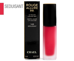 Brands Makeup Australia - Huda Lip Makeup France Beauty Brand Rouge Allure Ink Matte Liquid Lipstick Lip Colour 6mL - 146