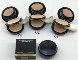 Oil Free Makeup Brands Australia - Free shipping 2019 Best-Selling Brand Makeup Newest FOUNDATION STUDIO FIX POWDER PLUS 3PCS lot