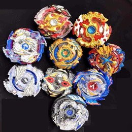 beyblade 24 UK - 2019 24 Designs Explosive gyroscope Clash Metal 4D Beyblades Beyblade Burst Spinning Tops Boys Kids Toys Beyblade Burst Party Favor Gyro toy