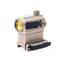 SEIGNEER Holografik taktik Sight Quick Release yüksek alçak montajlı Güneş pili enerjisi Hibrit Enerji ST1 Stili Red Dot sight herhangi bir 20mm Rai'ye uyar