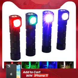caving headlamps UK - Freeshipping H03C RC Red Green Blue White Multi-colors LED Headlamp Flashlight