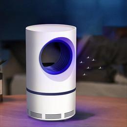 Ingrosso LED Fotocatalizzatore Lampada anti-zanzara USB Powered Insect Killer Non tossico Protezione UV Silenzioso Adatto per donne in gravidanza e bambini