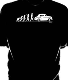 Discount classic car s - Evolution of Man, Standard Eight 8 classic car t-shirt Funny free shipping Unisex Casual Tshirt top
