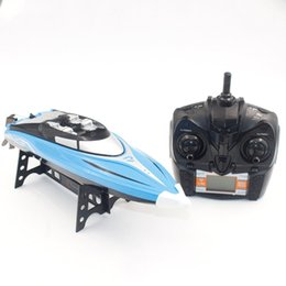 $enCountryForm.capitalKeyWord NZ - High Speed RC Boat 2.4GHz 4CH 25KM h Mini Racing Speedboat Ship with Water Cooling System Flipped for Kid Toys Gift