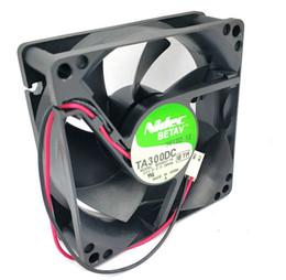 nidec fans 2019 - Free shipping New 6pcs Lot NIDEC 8CM TA300DC M33407-16 8025 24v 0.18a 2Wire cooling fan 80MM 80x80x25MM cheap nidec fans
