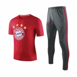 Uniform Polo Australia - Top quality 2019 JAMES ROBBEN GOTZE polo short sleeved training uniform 1920 RIBERY LEWANDOWSKI short sleeved training suitable for pants