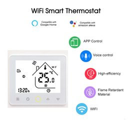 Voice controller online shopping - Water Gas Boiler Thermostat Smart Home WiFi Temperature Controller Voice APP Control Compatible with Amazon Echo Google Home