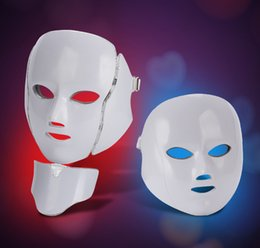 facial face mask home NZ - 2019 Health Beauty 7 Colors Lights LED Photon PDT Facial Mask Face Skin Care Rejuvenation Therapy Device Portable Home Use Beauty equipment